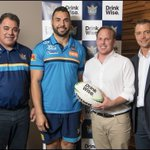 Image for the Tweet beginning: The Gold Coast Titans are