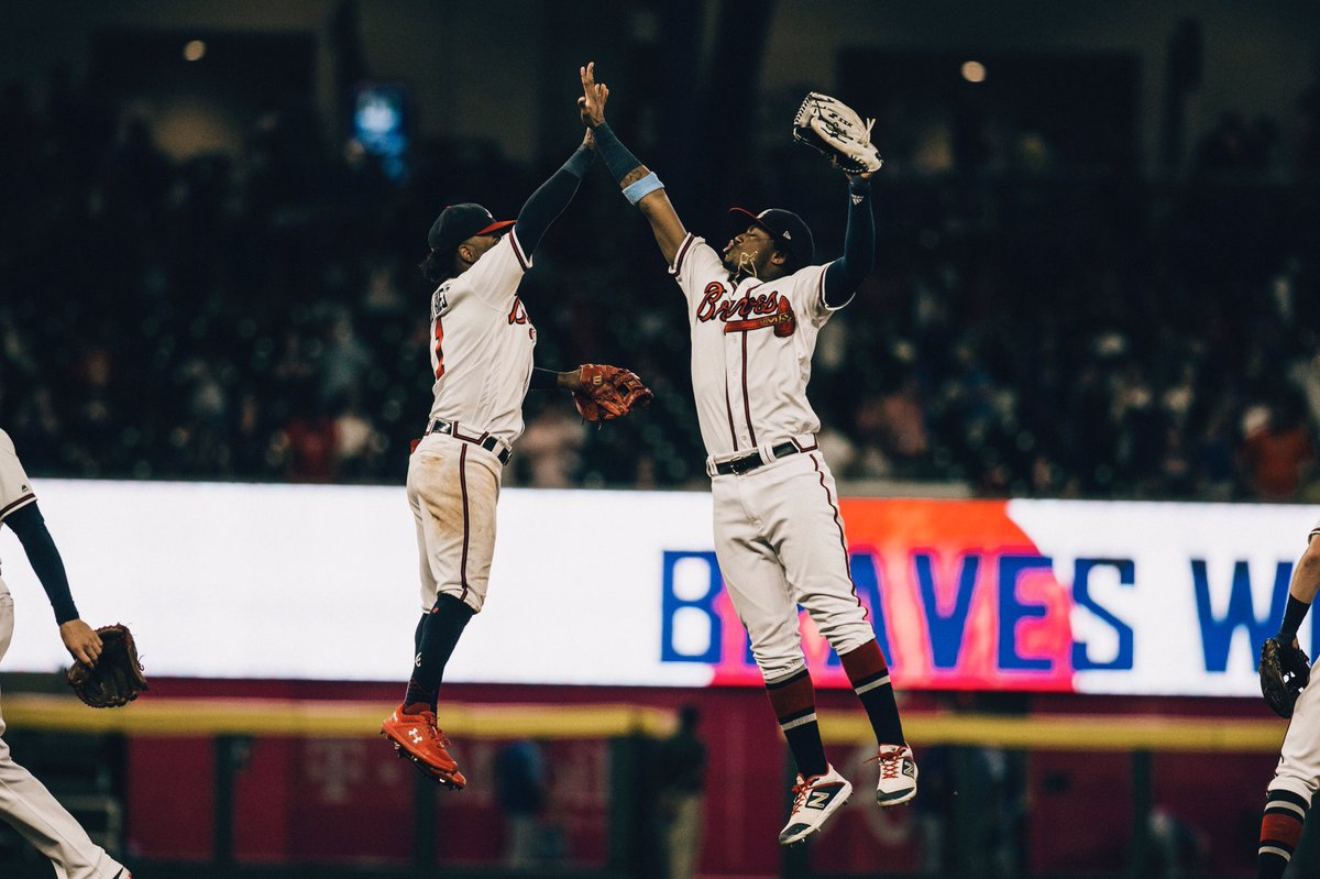 The #Braves went 8-2 on the 10-game homestand, Atlanta's longest of the season. The eight wins mark the most for the Braves in a single homestand since 2012, when they also went 8-2 over 10 games against Philadelphia, Miami and Houston from July 27-August 5.  #ChopOn <br>http://pic.twitter.com/HFwARXn5ci