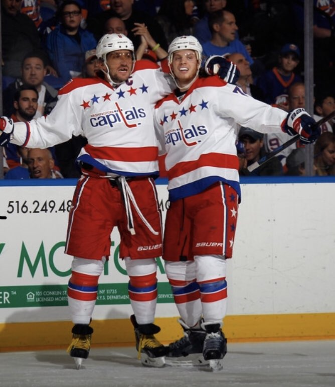 #Caps LW Alex Ovechkin was named a First Team All-Star while D John Carlson was named a Second Team All-Star