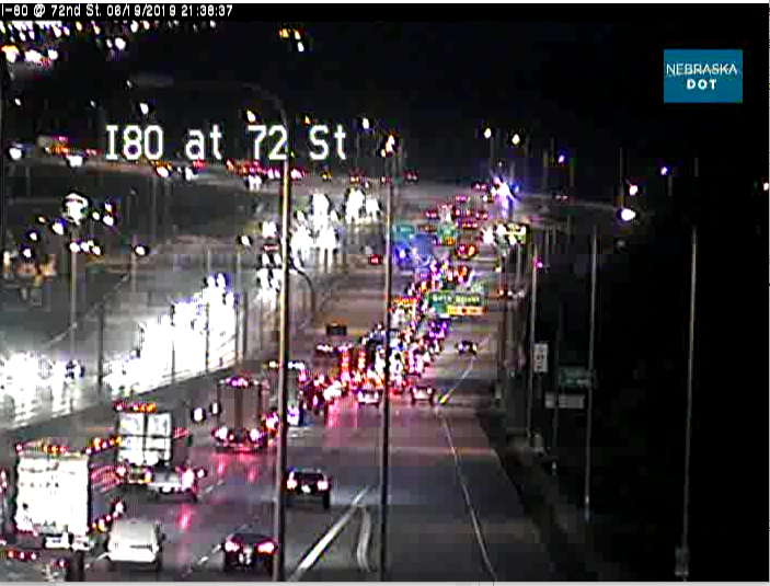 Please continue to avoid Westbound I-80 between 72nd and 84th. Follow NDOTomaha for updates.