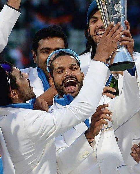 We will miss you shikhar 💔 #ShikharDhawan  #gabbar  #CricketKaCrown  #CWC19 https://t.co/0XF63LfuSD
