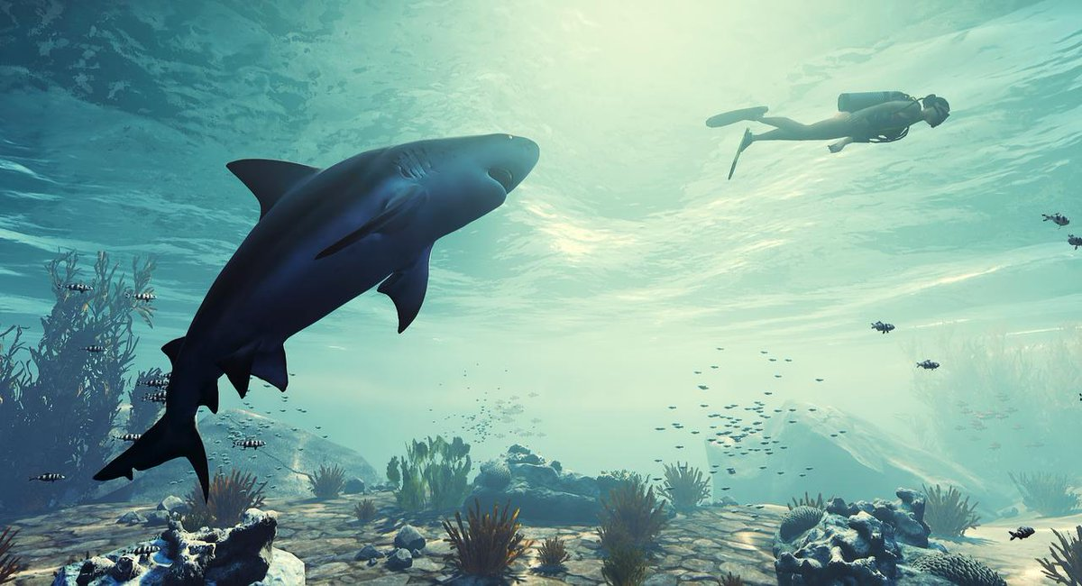 Presented as a reality show, Maneater is a deranged open world ShaRk-PG. http://bit.ly/2Kr6oA5