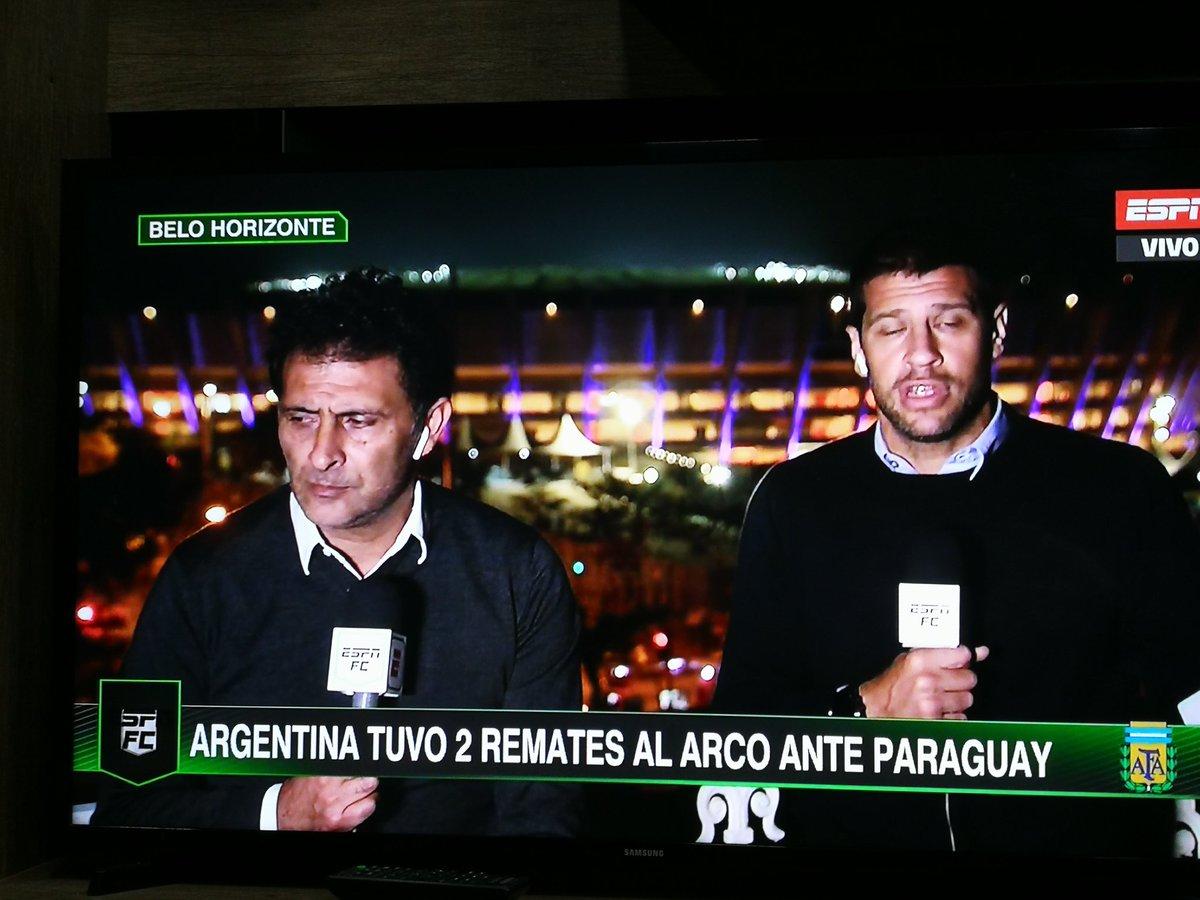 """Ruggeri: """"Somos superiores a Paraguay"""" La realidad:"""