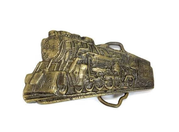 Big #Vintage #Brass #Locomotive Train Buckle #vintagefashion #fashion #style #retro #mod #luxury #premierestategallery #glamour #gotvintage http://jto.li/eRRgw
