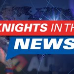 Image for the Tweet beginning: Knights in the news: DSaf's