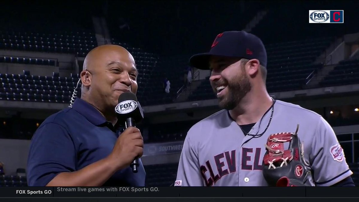 """You've gotta get through some of the bad days to get to some of the good ones.""   @TheJK_Kid has the utmost confidence in himself and the @Indians righting the ship. #RallyTogether"