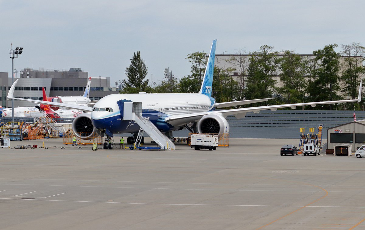 Taxi and brake systems testing scheduled for 777-9 WH001 on Thursday June 20 at Paine Field