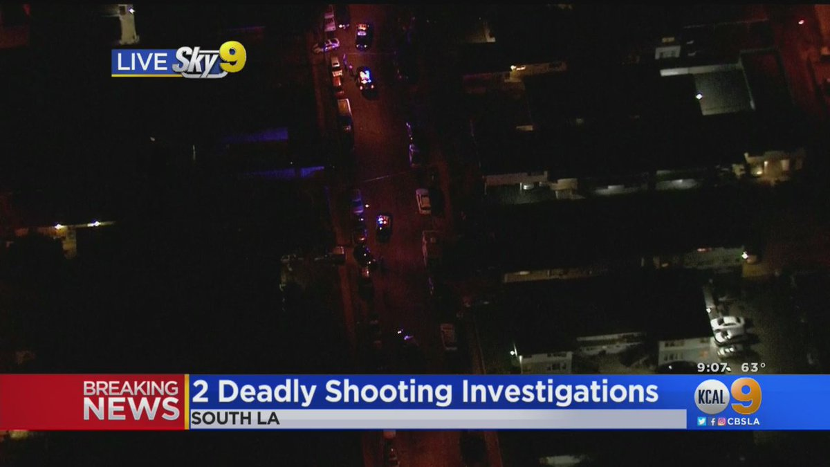 #BREAKING: Police are investigating a pair of deadly shootings in South Los Angeles cbsloc.al/2L2uiRV