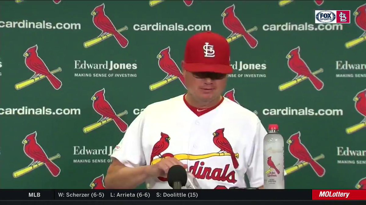 Shildt on Goldschmidts walk-off shot: That was a big-time swing and he almost did it in the first at-bat... Thats a big play for him and us. #TimeToFly