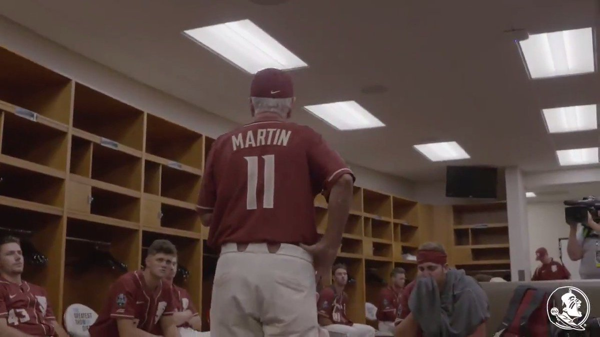 After 40 years, one last word from Mike Martin. #Noles