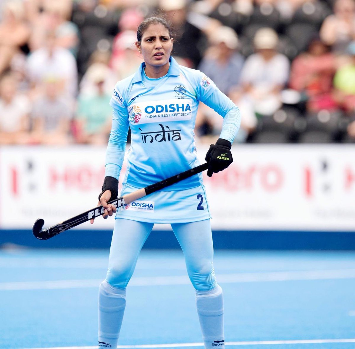 #KnowYourChampionIndian women's #hockey's star drag-flicker #GurjitKaur has had a long journey to the top. Her father enrolled her in an academy in Kairon & regularly travelled 150 kms to see her practice. She's India's leading scorer with 7 goals at ongoing FIH Series finals.🏑