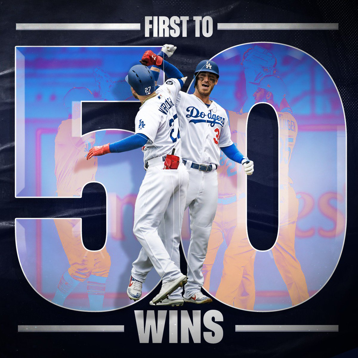 @MLB's photo on First to 50