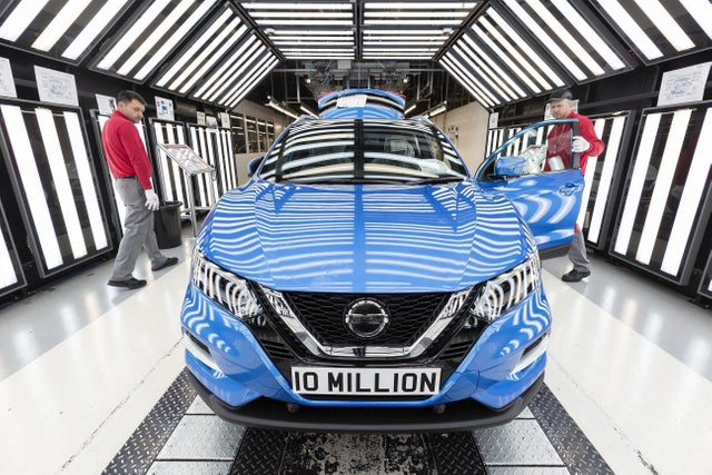 Major milestone for Nissan's Sunderland factory as it celebrates building its ten millionth car - on average, a new vehicle has been built at the plant every two minutes since production started in 1986 http://bit.ly/NISSANUK #UKmfg #GBmfg🇬🇧