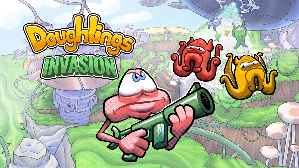 "Doughlings: Invasion is now available for Digital Pre-order and Pre-download on Xbox One <a href=""http://mjr.mn/p3sdnO3"" rel=""nofollow"" target=""_blank"" title=""http://mjr.mn/p3sdnO3"">mjr.mn/p3sdnO3</a> https://t.co/EvYAqGAlg5."