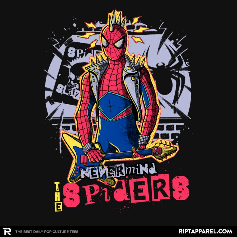 "Get ""Nevermind The Spiders"" by #MitchLudwig at http://bit.ly/dailytwss  #parody #SexPistols #SpiderMan"