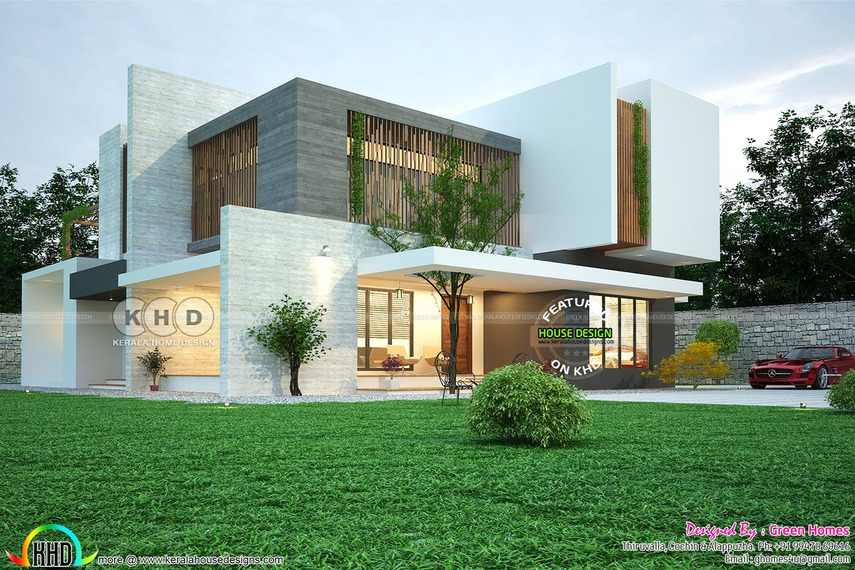 Contemporary Green Friendly Nature Home  Https://www.keralahousedesigns.com/2019/06/contemporary Green Friendly Nature  Home.html U2026pic.twitter.com/mK00VomDry