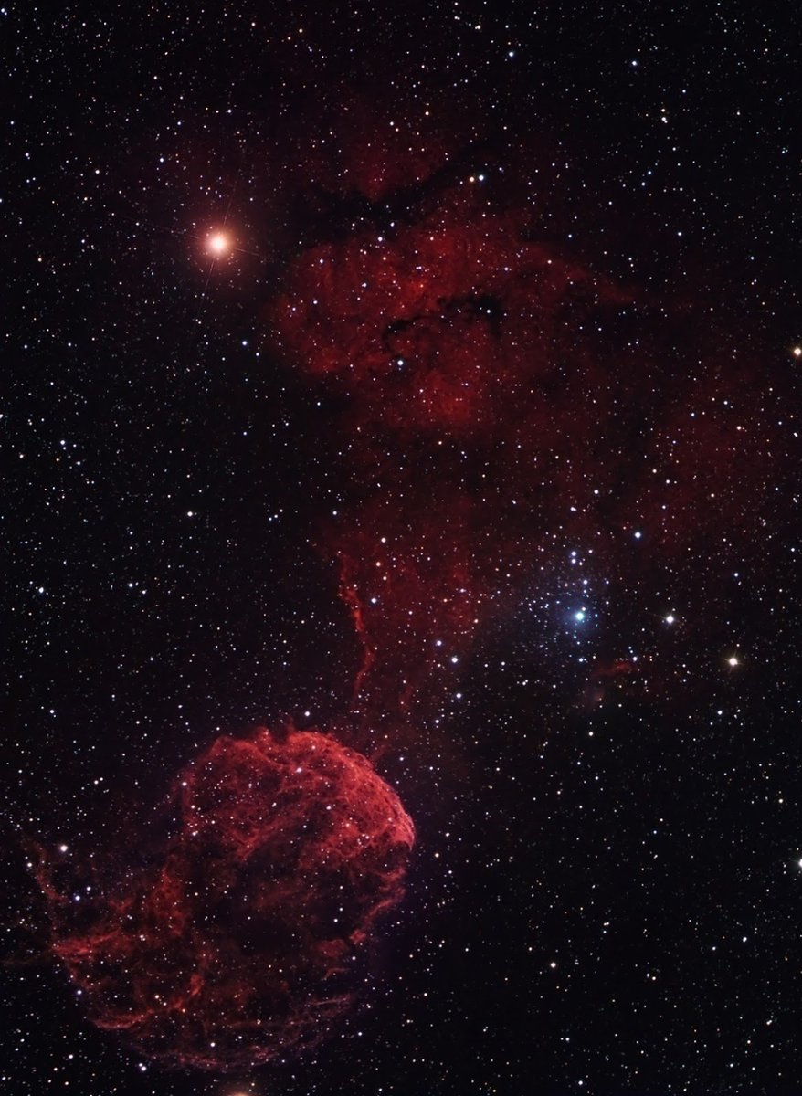 The Jellyfish Nebula, one of the best-studied cases of SNR #CulturesWays https://t.co/wrbMdOhDJh