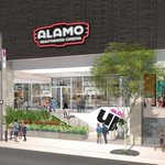Image for the Tweet beginning: The first #AlamoDrafthouse in Los