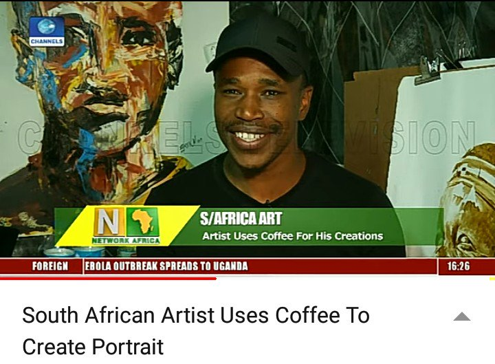 South African Coffee Artist   This is indeed history in the making   My name is Ennock Mlangeni. YOU DON'T KNOW ME YET!! <br>http://pic.twitter.com/q6hg5RVh33