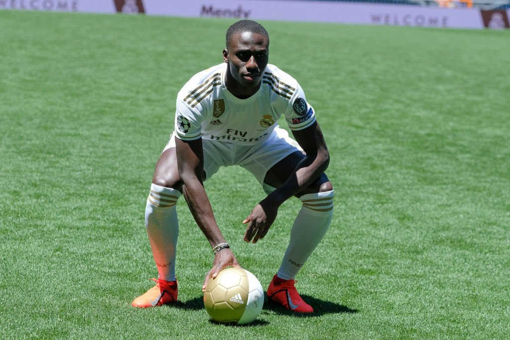 """""""I was in a wheelchair for a while... They told me I wasn't going to play again. Now I'm at Real Madrid.""""  Ferland Mendy's rise to Real is quite something...  👉 https://bbc.in/2Y079Dk"""