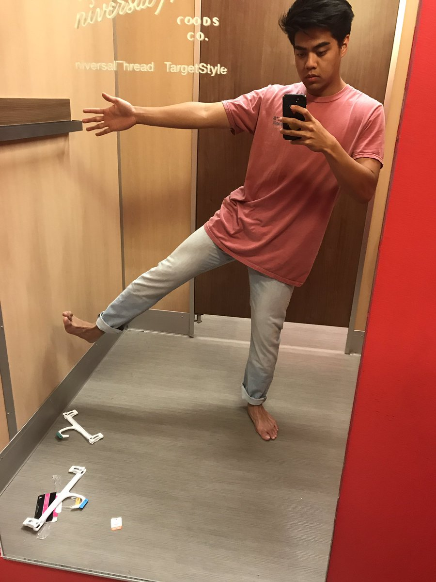 Thank u guys for all the love on WHAT KINDA LOVE! Here's me trying on some pants at target <br>http://pic.twitter.com/UeoHDcgjDB