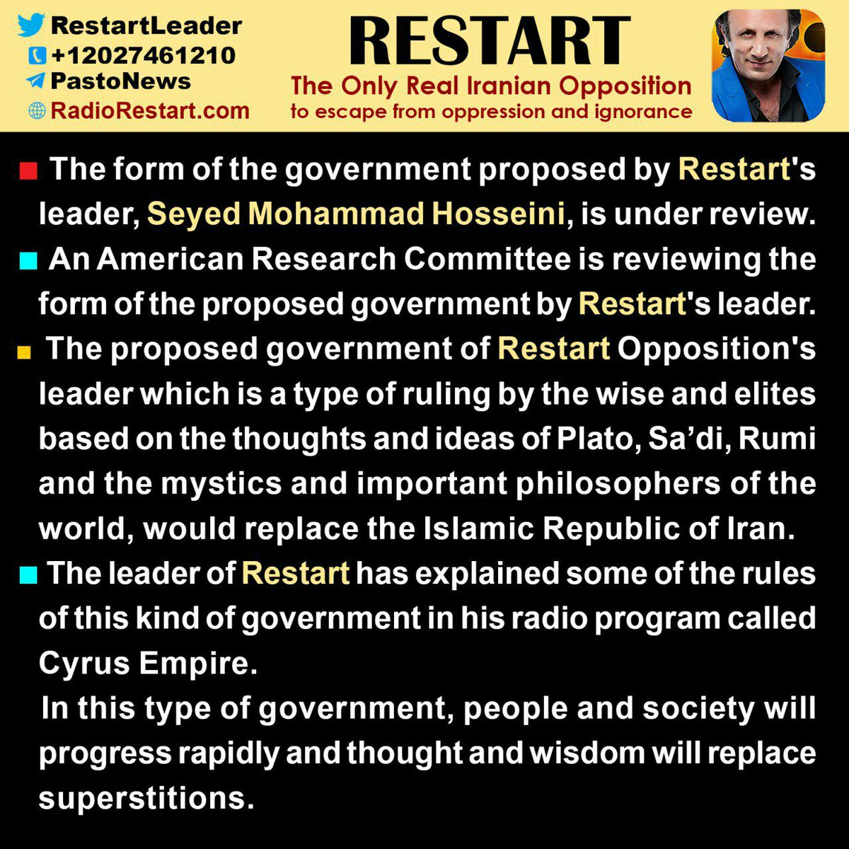 Censorship is the only tool for globalists against patriots, but ultimately victory will be patriotic.!$ @realDonaldTrump #restart_will_make_iran_great_again<br>http://pic.twitter.com/qQeL9IW3bC
