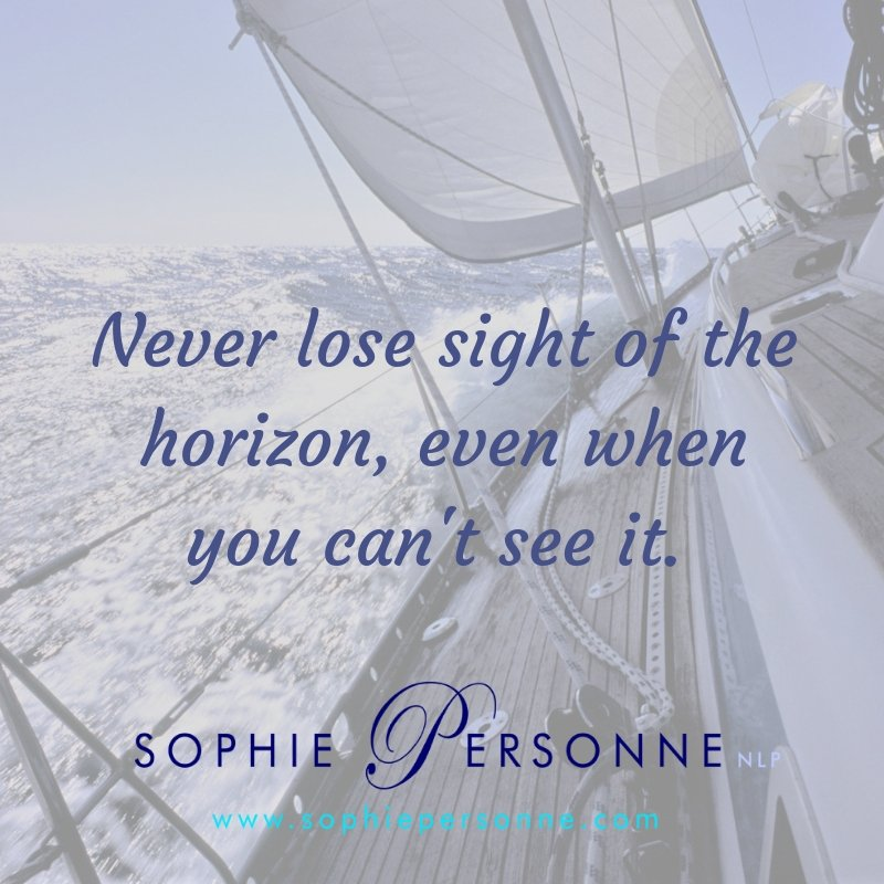 Never lose sight of the horizon, even when you can't see it. #realrelationships #yourotherhalf #AskSophieP #trust #believe #relationships #relationshipgoals #relationshipadvice #DatingAdvice