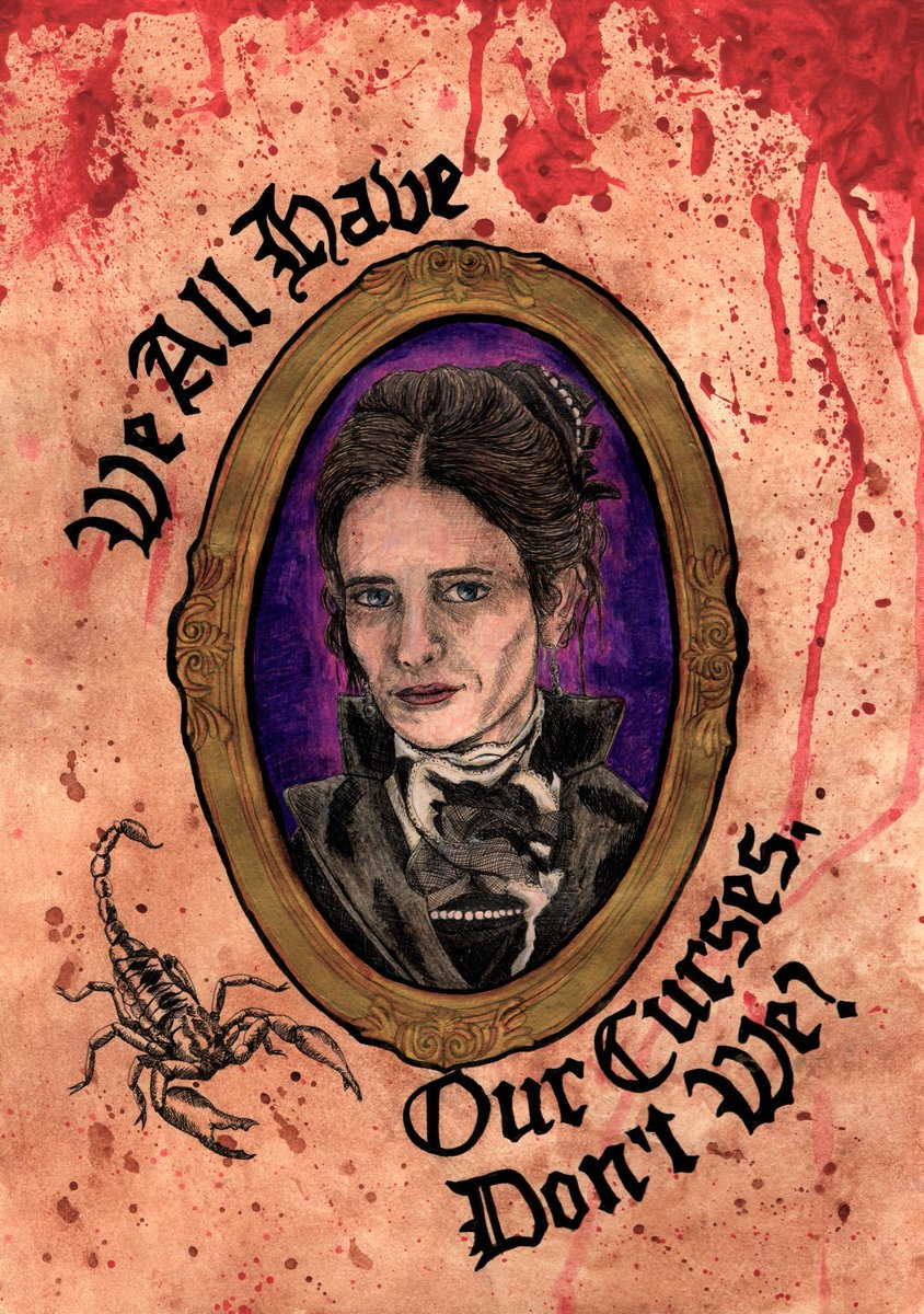 Finally finished the first batch of Penny Dreadful pieces!  Drawing people is so much harder than pretty much any other animal.  #pennydreadful #victorian #gothic #artist #fanart #comics #vanessaives #malcolmmurray #ethanchandler #evagreen #joshhartnett #timothydalton  #challenge