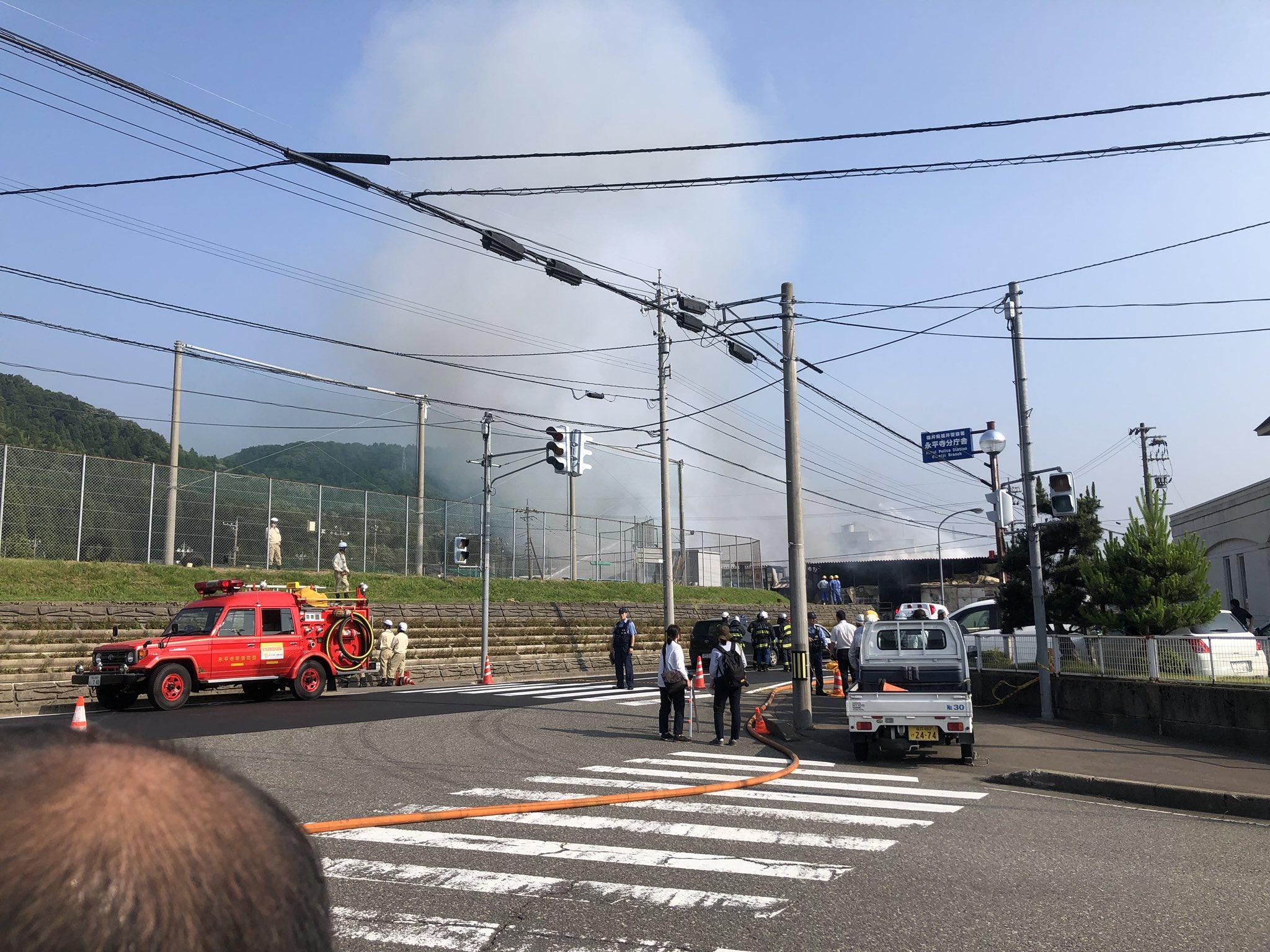 画像,工場の火事やべえな https://t.co/RYotXqoAOu。