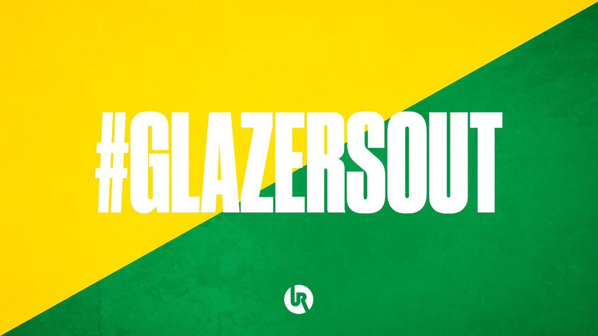 I am so proud of the unity shown by @ManUtd fans to get #GlazersOut trending number 1 worldwide. Keep the RT's going and stop buying merchandise & tickets for the games. We need to protest NOW. Speak up don't be silent <br>http://pic.twitter.com/9gbPHROB1e