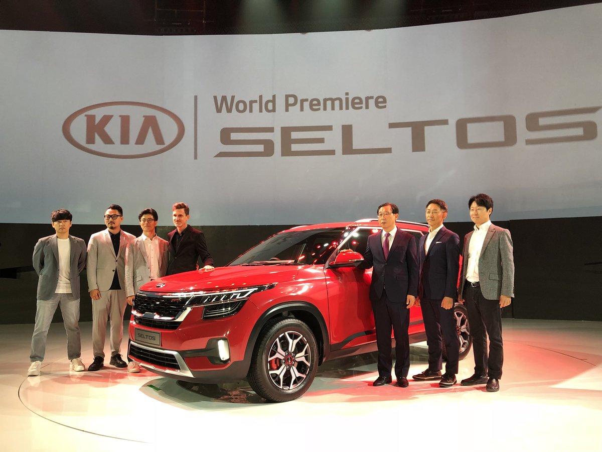#KiaSeltos globally unveiled! #KiaMotors #Seltos
