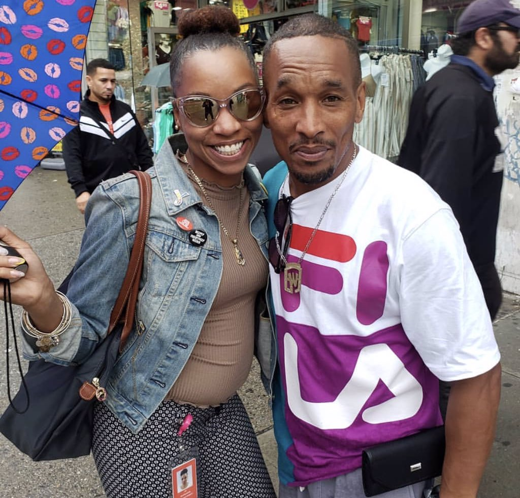 """One of my favorite things to do after work these days is go on IG and see how many people have run into Korey on the streets of Harlem. Folks post dozens of pics daily. I asked him this morning how he feels about it. He said, """"They give me love and I give them love. It's good."""""""