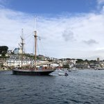 Image for the Tweet beginning: Leaving Salcombe ready to head
