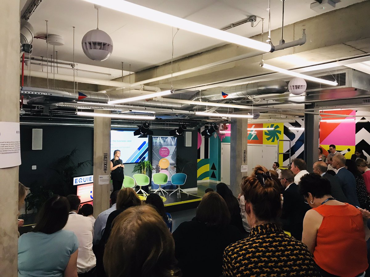 RT @GetEquiem A great crowd at our first ever #proptechmasterclass in partnership with @MakeExperiences at @huckletree Shoreditch. We're kicking off with Julie Alexander at @placesforpeople scene setting about tech adoption in real estate.
