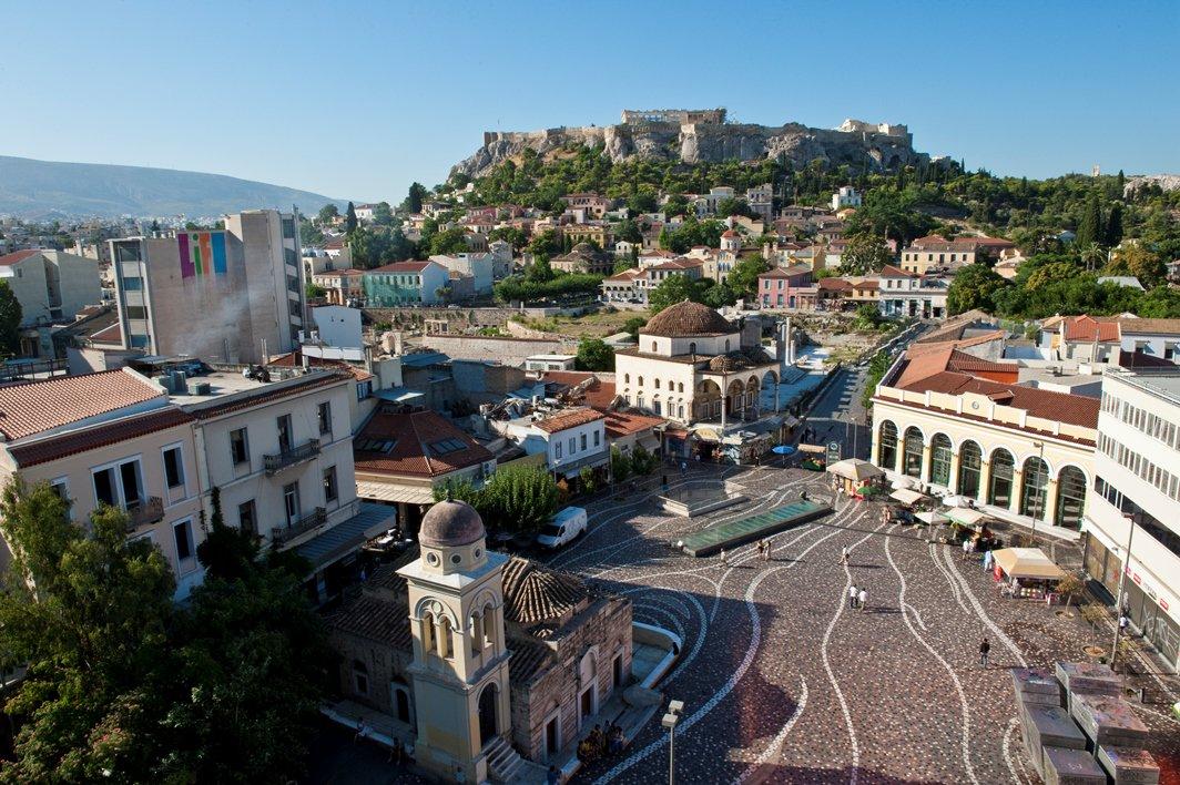 RT @VisitGreecegr: Good morning from Monastiraki, Athens. #VisitGreece #travel #ttot https://t.co/0wvHpLIwaK