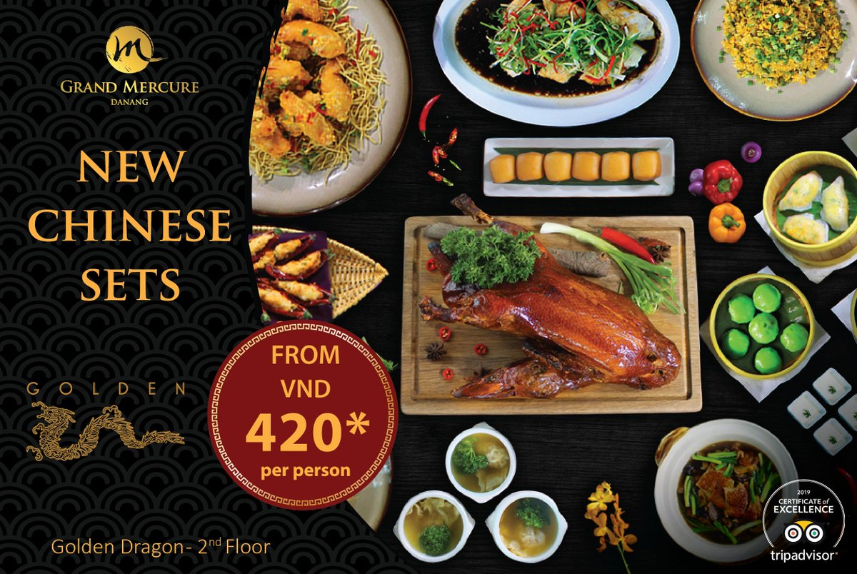 "THE SANXING SET MENU - ""HAPPINESS, PROSPERITY, LONGEVITY"" Renowned #GoldenDragon is launching NEW PREMIUM #Chinese Sets - SANXING SET MENUS for lunch and dinner.  Let's indulge in Cantonese delights with 3 new premium Chinese sets menu of your choice for 6 persons.  #chinesefood https://t.co/UZcMhNgiIY"
