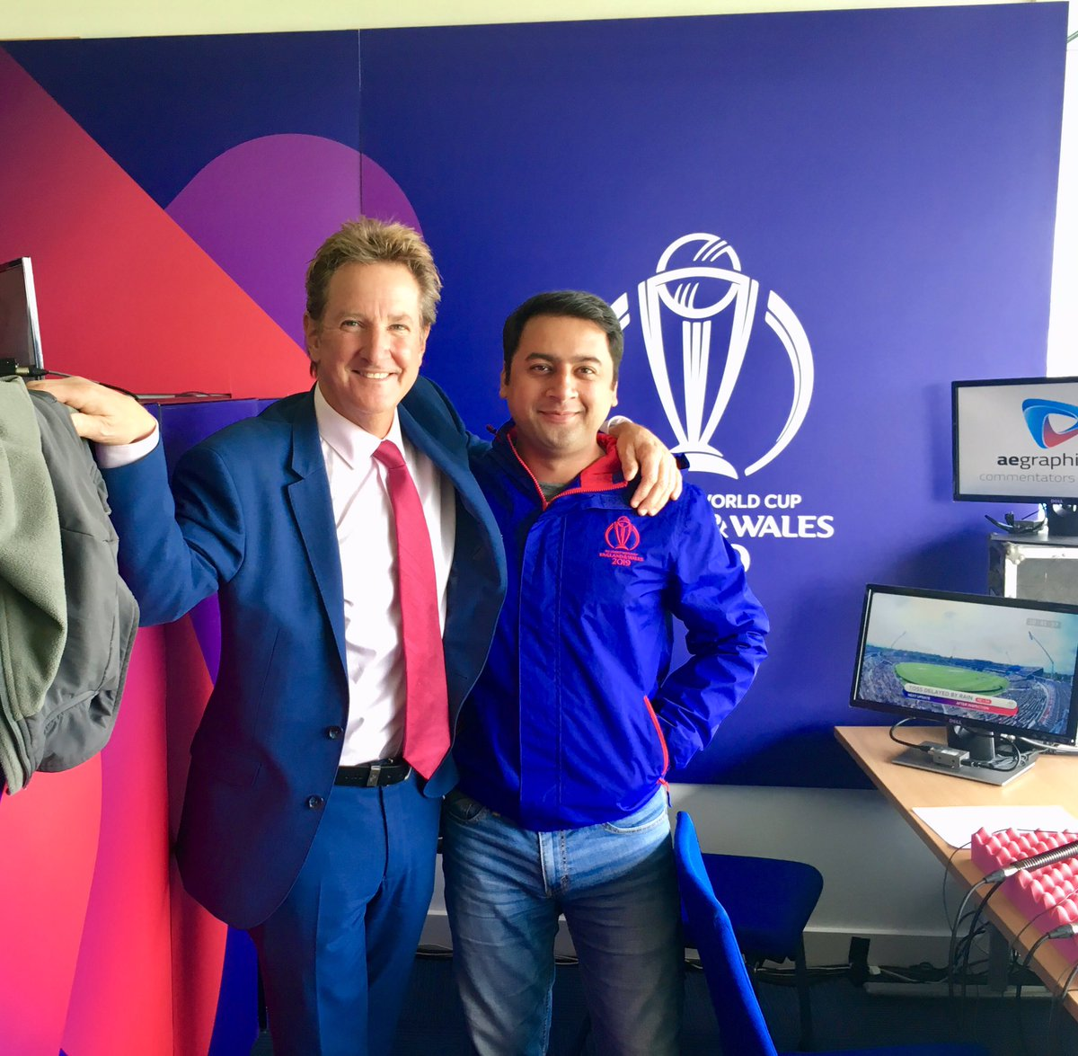 The James Bond of cricket commentary. #CWC19