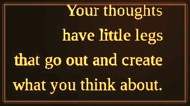 ...think positive... #ThursdayThoughts #quote