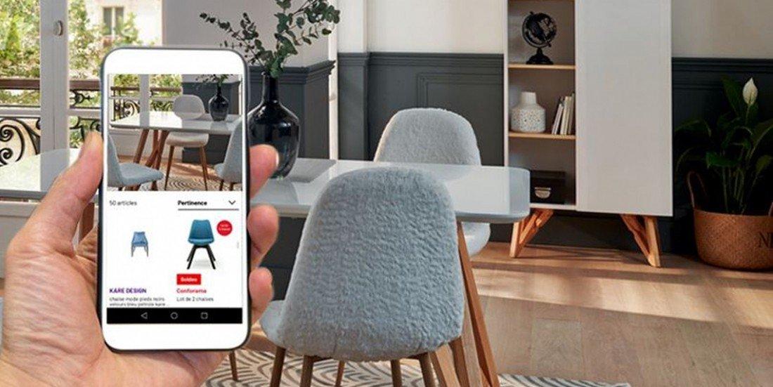 Conforama lance la recherche de produits par photo sur son site marchand bit.ly/2Y04AB3 #marketing
