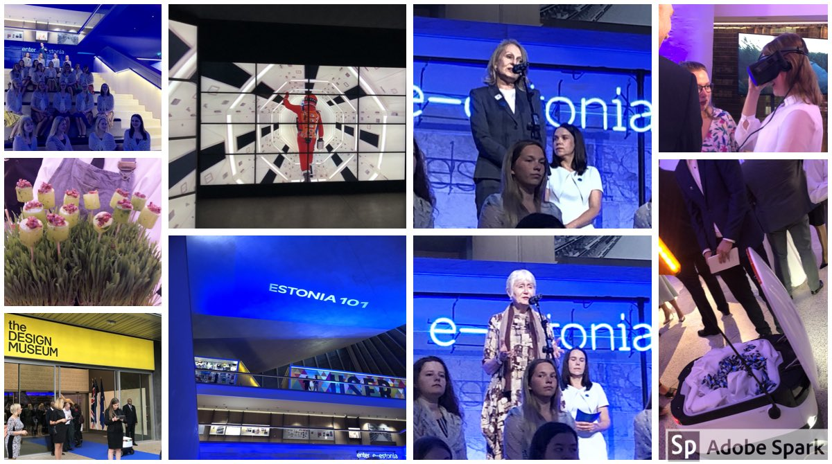 test Twitter Media - Wow - #Estonia Day at @DesignMuseum was a breath of fresh Estonian air, full of e-stonian innovation: robot waiters, VR, nature-inspired canapés & must-see #Kubrick exhibition, plus sublime song from ETV girl's choir - Aitäh @TiinaIntelmann & friends at @estembassyuk https://t.co/i0V799EZnK