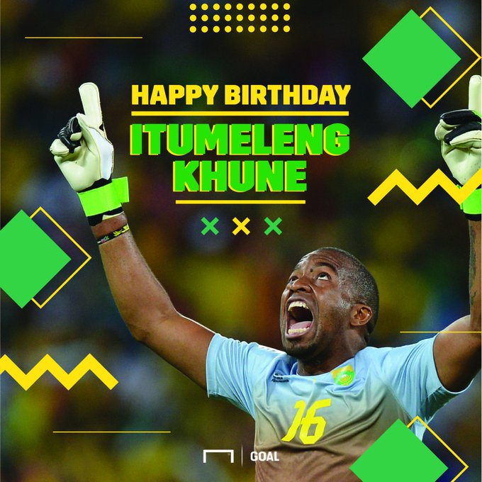 Join us in wishing Itumeleng Khune a very happy birthday!