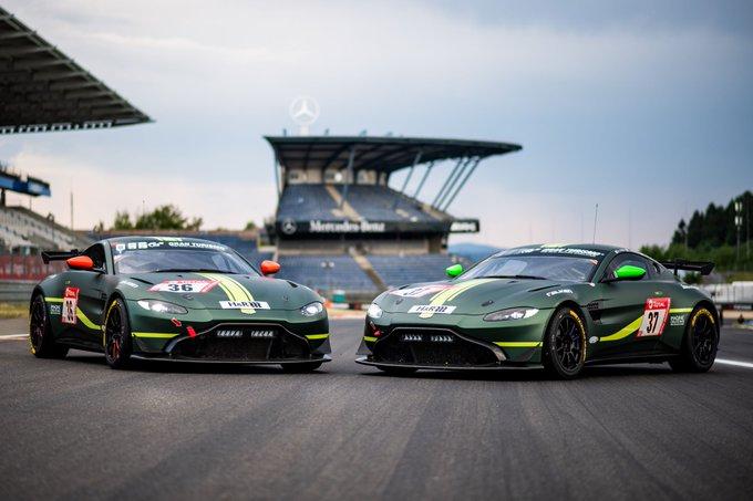 NEWS: Aston Martin all set…