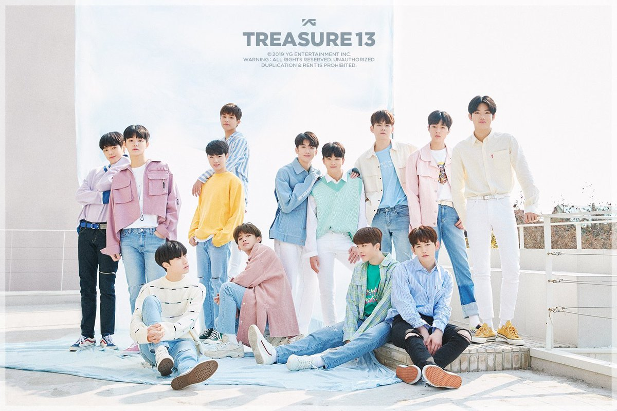 i can't believe TREASURE13 will debut in a new system, new version, new generation of YG Entertainment & i'll right here to witness it