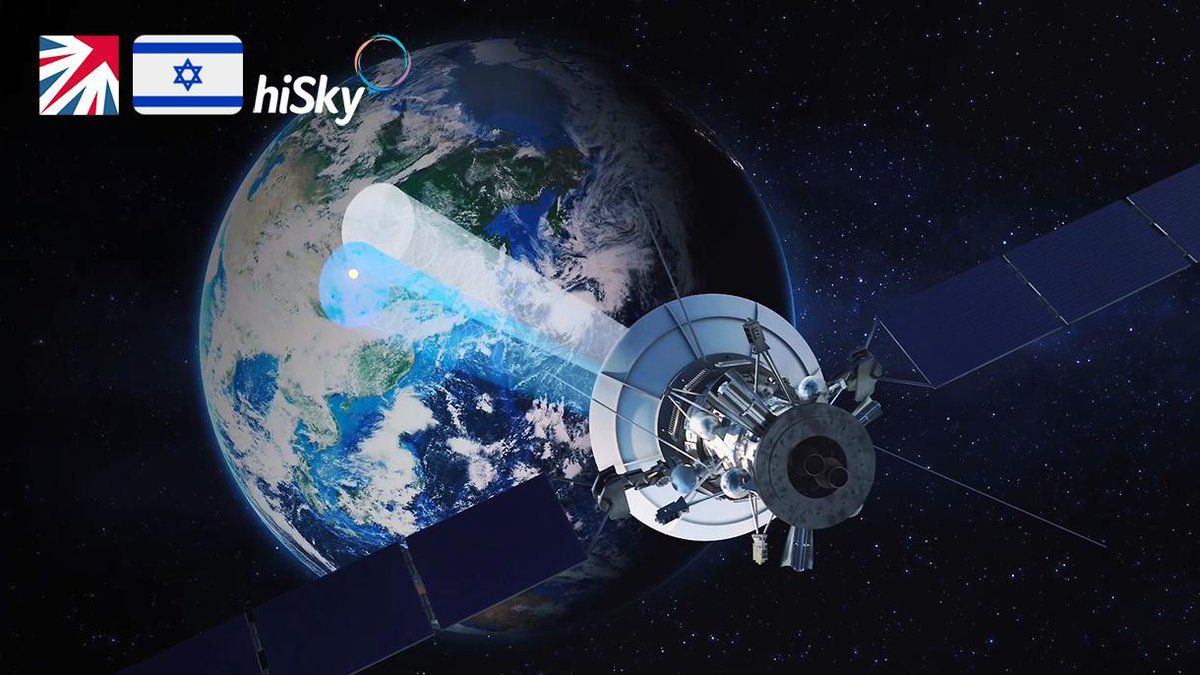 ·@GOVUK🇬🇧: UK #Space Agency @SpaceGovUK invested £9 million in Israeli🇮🇱 low-cost #satellite communications hiskysat.com, to develop cutting-edge space #tech at @HarwellCampus center, generating +100 high-tech jobs in #London & #Oxfordshire 🔗snip.ly/2e01th