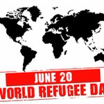 Image for the Tweet beginning: #WorldRefugeeDay praying for all to