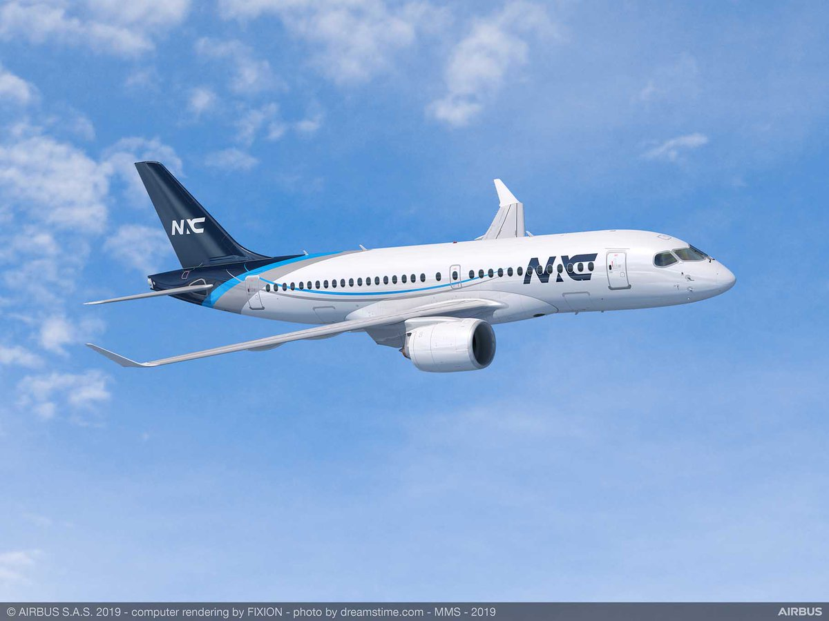 Nordic Aviation Capital orders 20 #A220 Family aircraft https://fly.airbus.com/2WUVIvo  #PAS19 #WeMakeItFly