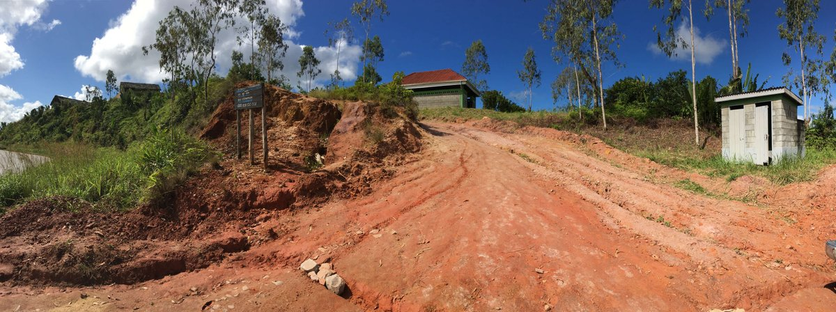 Internal roads to Vatomina have already been built within the permit area and bridges and culverts are currently under construction. The project has received an extensive in-country recognition and support in Madagascar  #Tirupati #Graphite