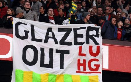 RT @TotallyMUFC: Green and gold until the club is sold   #GlazersOut https://t.co/apEsolpOmL