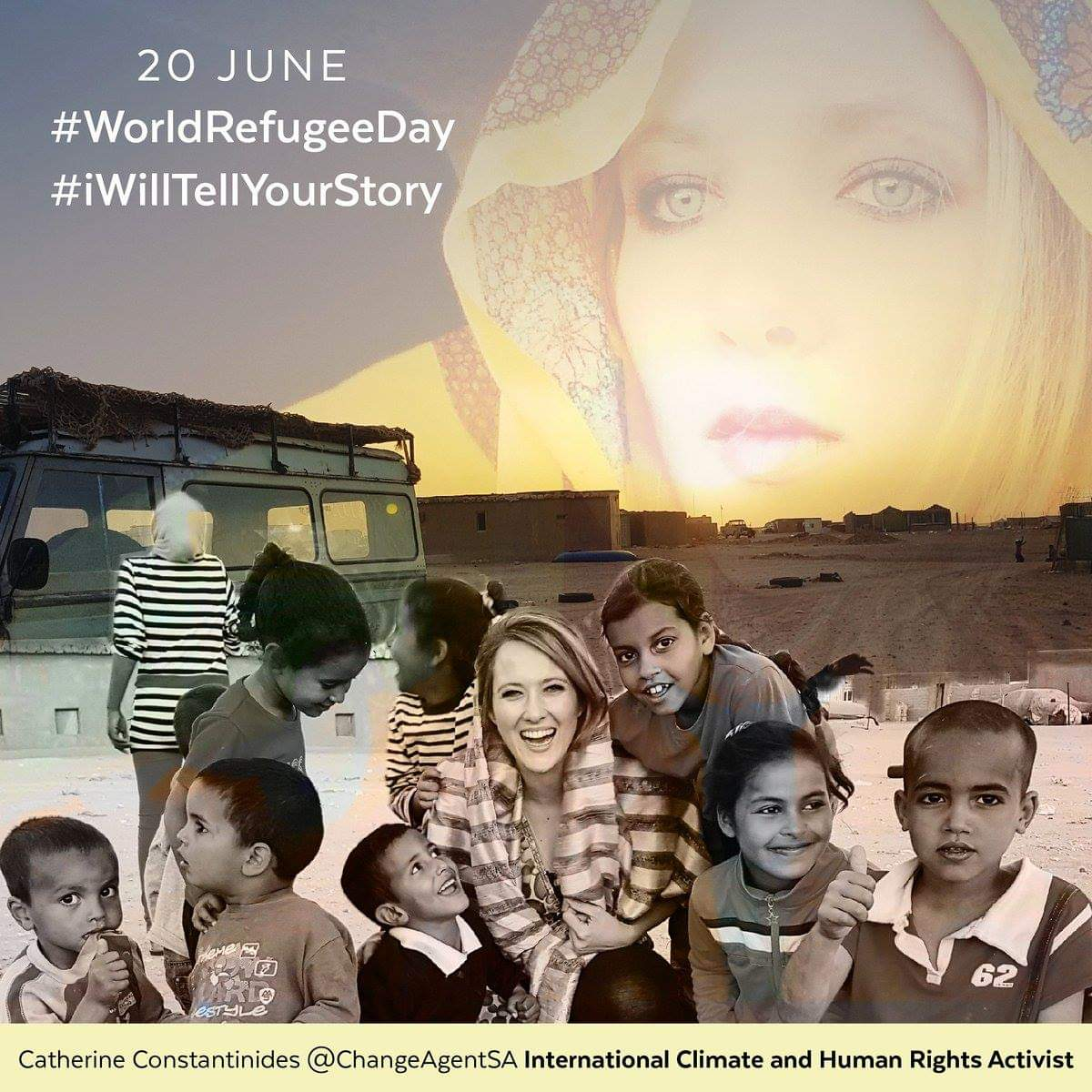 "CATHERINE Constantinides on Twitter: ""My Saharawi Children. The ..."