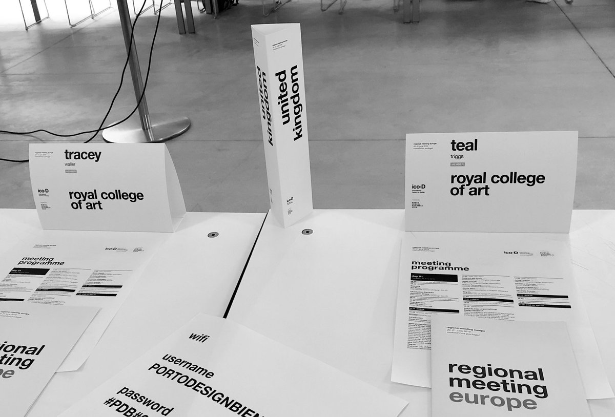 What a great privilege to be a delegate co-representing @RCA for the @theicoD #RegionalMeetingEurope #Porto @RCAvisualcomm @RCACommResearch https://t.co/3Mpk02dGmq